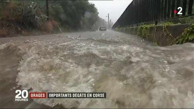 Haute-Corse : des pluies diluviennes et des dégâts matériels