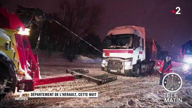 Nuit de galère sur les routes de l'Hérault