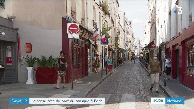 Coronavirus : le casse-tête du port du masque obligatoire à Paris