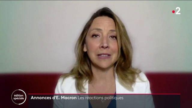 """Allocution d'Emmanuel Macron : un """"aveu d'échec"""" sur la gestion de la crise, selon l'opposition"""