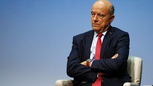 Alain Juppé, le 23 novembre 2017, au musée du quai Branly à Paris. (FRANCOIS MORI / AFP)
