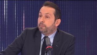 Sébastien Chenu, porte-parole du RN, sur franceinfo le samedi 13 février 2021. (FRANCEINFO / RADIOFRANCE)