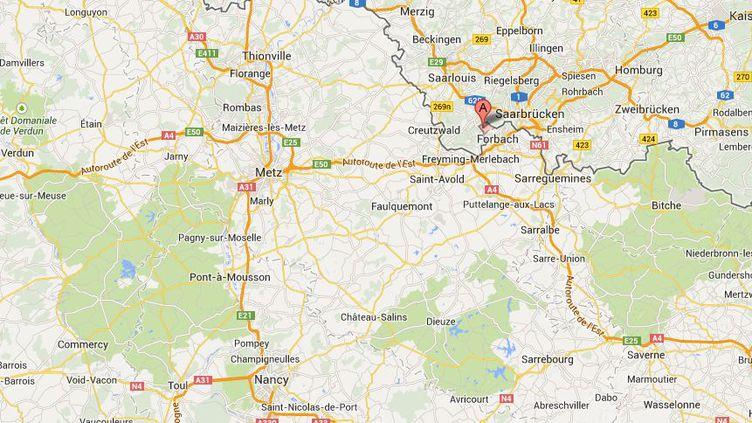 Un groupe d'élèves de 10 ans, scolarisés en CM1 et CM2, terrorisent les enseignants de leur école, à Petite-Rosselle, près de Forbach (Moselle). ( GOOGLE MAPS / FRANCETV INFO )