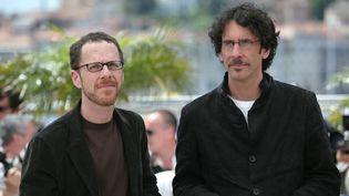 Les cinéastes américains Ethan et Joel Coen sont les Présidents du Jury cannois cette année  (FRED DUFOUR / AFP)
