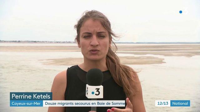 Douze migrants secourus en baie de Somme