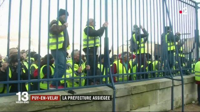 Puy-en-Velay : au moins 70 blessés dans l'incendie de la préfecture