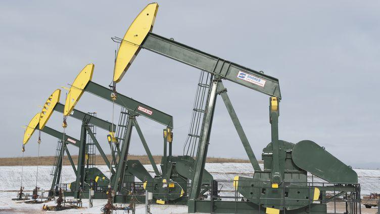 (Puits de pétrole dans le Dakota du Nord aux Etats-Unis©REUTERS/Andrew Cullen)