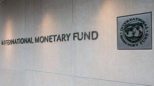 Le siège du FMI à Washington (États-Unis). (ZACH GIBSON / AFP)