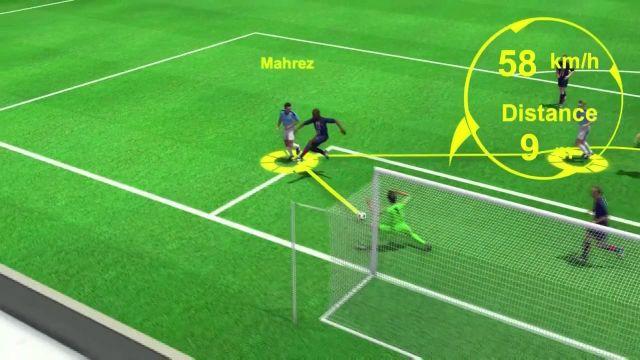 VIDÉO. Manchester City–PSG (2-0) : Revivez le premier but de Mahrez analysé en 3D par notre consultant Jérôme Alonzo.