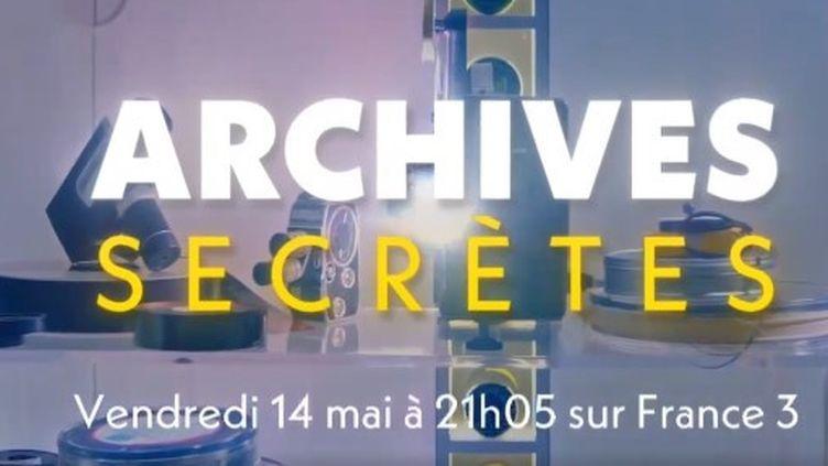 """""""Archives secrètes"""", des documentaires quiracontent l'intimité de personnalités à travers des documents privés. (CAPTURE D'ÉCRAN FRANCE 3)"""