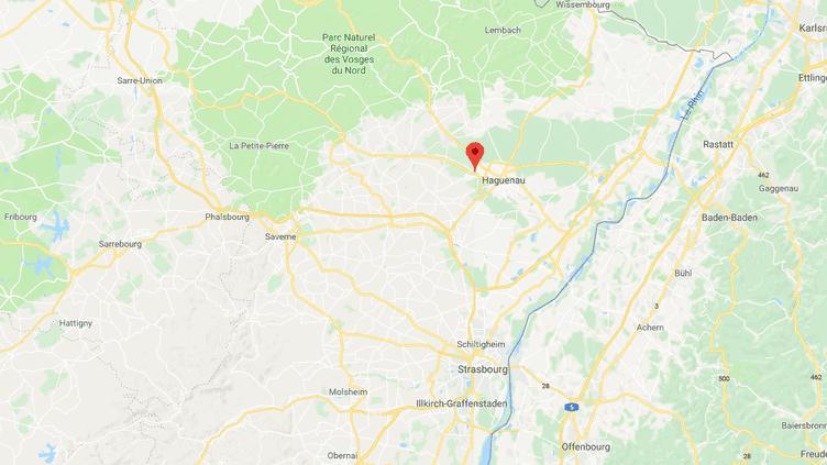 Lætitia Schmitt, 35 ans,a été tuée par son ex-mari, le 25 juin 2018,à Schweighouse-sur-Moder (Bas-Rhin). (GOOGLE MAPS)