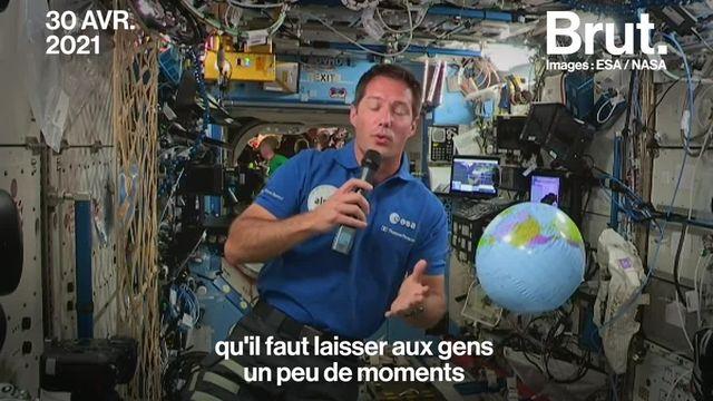 Thomas Pesquet raconte sa nouvelle vie dans la Station spatiale internationale, un espace qu'il partage avec 11 astronautes.
