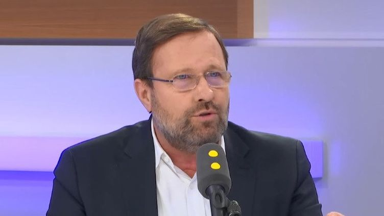 Olivier Campenon, vice-président de la Chambre de commerce franco-britannique, invité de franceinfo le 31 janvier 2020 (RADIO FRANCE)