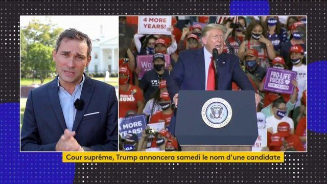 Etats-Unis : une candidate de Donald Trump à la tête de la Cour suprême ?
