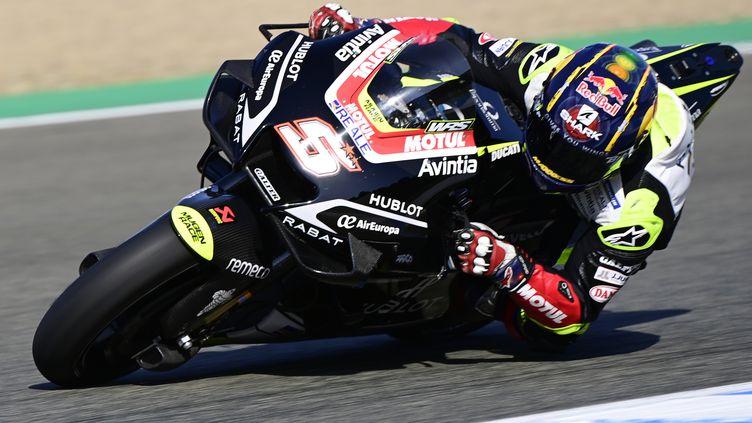 Le Français Johann Zarco sur sa Ducati (JAVIER SORIANO / AFP)