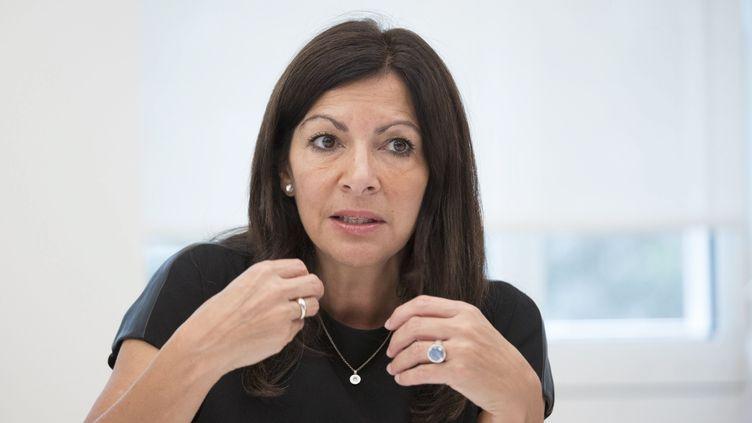 La maire de Paris, Anne Hidalgo, le 4 octobre 2017. (MAXPPP)