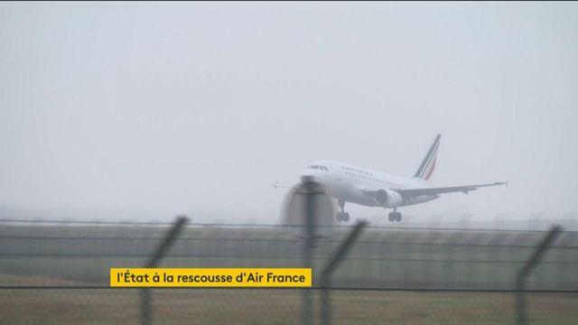 L'Etat au soutien d'Air France