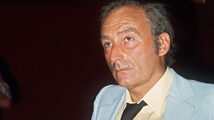 Pierre Barillet en répétition aux Bouffes Parisiennes en septembre 1971  (AFP)