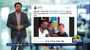 Des appels aux dons se multiplient sur les réseaux sociaux après le passage de l'ouragan Irma. (France 3)