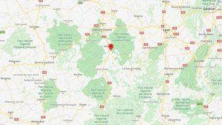 Saint-Victor-sur-Loire, dans la Loire. (GOOGLE MAPS)