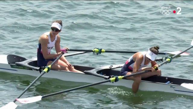 Nouvelle médaille pour la France en aviron ! Laura Tarantola et Claire Bove décrochent l'argent en deux de couple poids légers, au terme d'un final haletant ! La médaille d'or revient aux Italiennes.