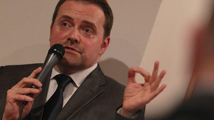 Bastien Millot, le fondateur de Bygmalion,le 19 avril 2012 à Nice (Alpes-Maritimes). (  MAXPPP)