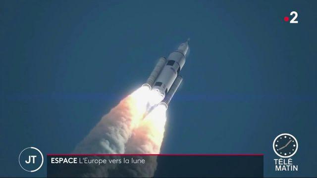 Espace : des spationautes européens bientôt sur la Lune ?