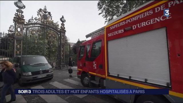 Paris : 11 personnes dont huit enfants blessées par le foudre