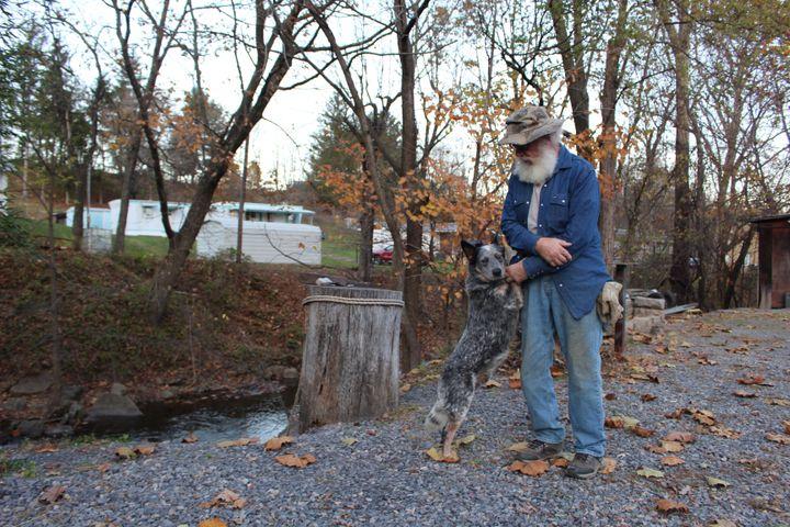 Alan,dans le comté de Grant en Virginie-Occidentale (Etats-Unis), le 8 novembre 2020. (ROBIN PRUDENT / FRANCEINFO)