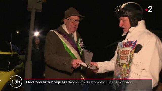 Élections britanniques : une retraité anglais résidant en France défie Johnson
