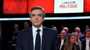 François Fillon, candidat Les Républicains à la présidentielle, invité jeudi 23 mars, sur France 2. (AFP)