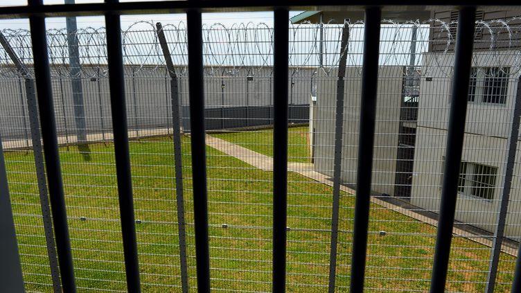 La prison de Corbas ((Rhône), le 17 juin 2013. (MAXPPP)