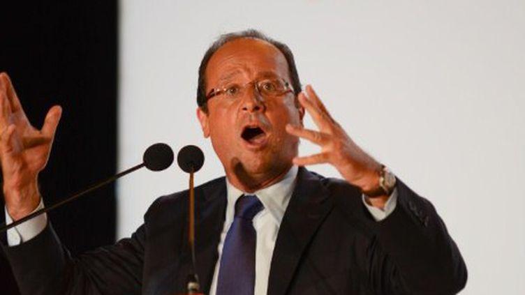 François Hollande, député de Corrèze. (CITIZENSIDE - JONATHAN TESSIER)