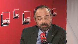Édouard Philippe, invité de France Inter, mercredi 30 janvier. (FRANCE INTER)