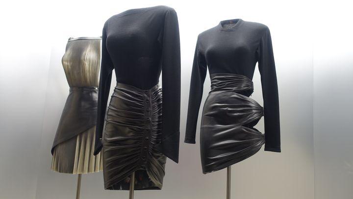 """Azzedine Alaïa """"Je suis couturier"""" : couture 1981 et 1983.  (Corinne Jeammet)"""