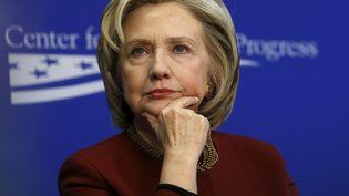 Hillary Clinton à Washington, le 23 mars 2015. (KEVIN LAMARQUE / REUTERS)