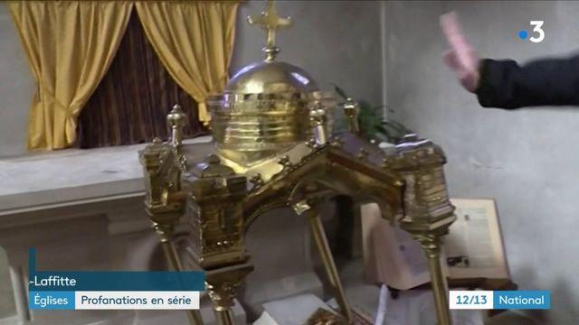 Yvelines : plusieurs profanations dans des églises