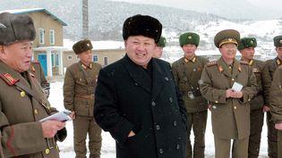 Le leader nord-coréen Kim Jong-un sur une photo non datée communiquée par l'agence officielle de Corée du Nordle 5 décembre 2014. (KNS / KCNA / AFP)