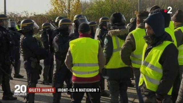 """""""Gilet jaunes"""" : iront-ils à Matignon ?"""