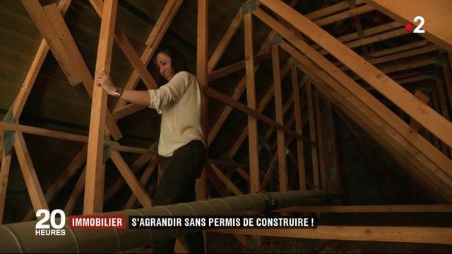 Immobilier : comment s'agrandir sans permis de construire ?