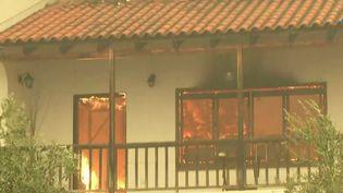 Incendies : la Grèce victime de violents incendies (France 3)