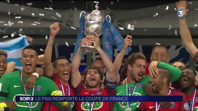 Football : le PSG remporte la Coupe de France