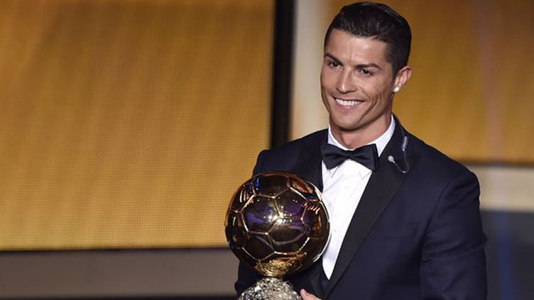 Cristiano Ronaldo Ballon d'Or 2014 (FABRICE COFFRINI / AFP)