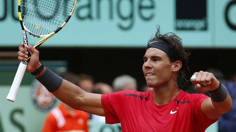 Rafael Nadal heureux