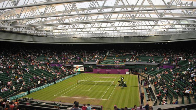 La modernité de Wimbledon symbolisée par son toit rétractable