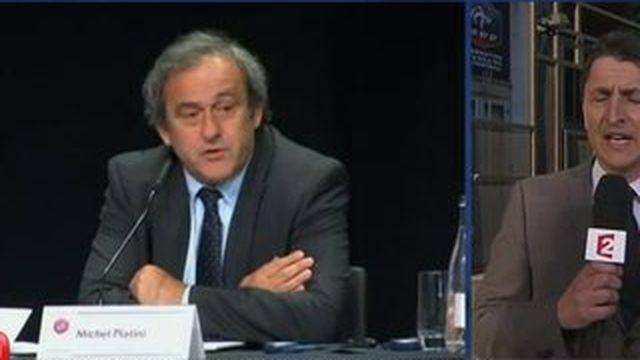 Fifa : Michel Platini en pole pour succéder à Sepp Blatter ?