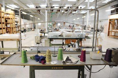 L'atelier world tricot à Lure  (PHOTOPQR/L''EST REPUBLICAIN)