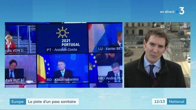 Covid-19 : la création d'un pass sanitaire en France est à l'étude