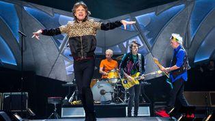 Les Rolling Stones sortent leur premier album en onze ans, période passée à écumer les concerts, ici à Las Vegas en octobre dernier (MEDIAPUNCH/SHUTTERSTOCK/SIPA / REX)