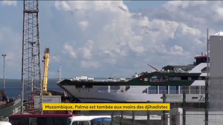 Le port de Palma, au Mozambique (FRANCEINFO)